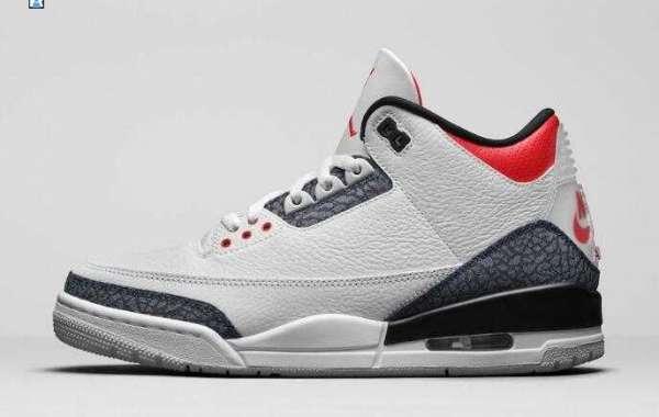 Where to buy Air Jordan 3 SE Denim Fire Red?