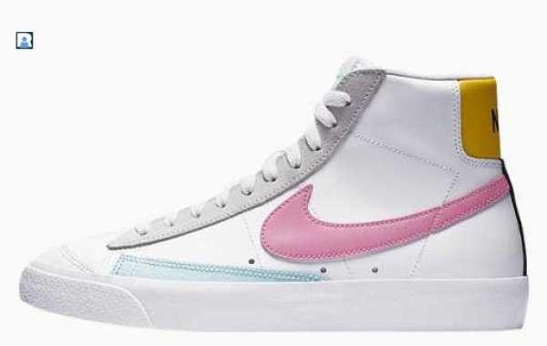 DA4295-100 Nike Blazer Mid 77 Vintage Pink Glow for Sale