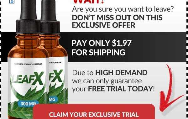 LeafX CBD Oil Reviews: To Remove Pains | Price, Side Effects, Benefits, Is A Scam?