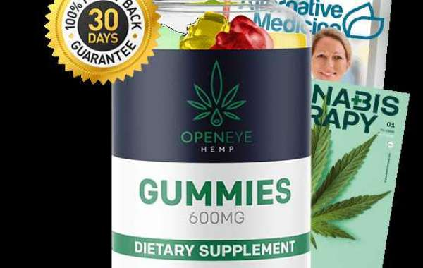 Ingredients loaded in OpenEye Hemp Gummies