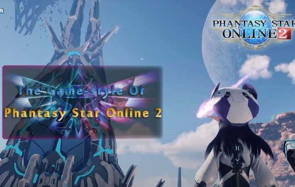 The Game-style Of Phantasy Star Online 2